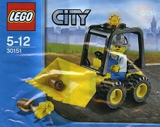 LEGO City 30151 Mini Dozer Limited Edition