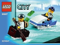 LEGO City 30227 Police Watercraft