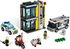 LEGO City 3661 Bank & Money Transfer