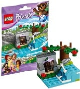 LEGO Friends 41046 Braunbär am Fluss