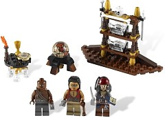 LEGO Pirates of the Caribbean 4191 Captain's Cabin
