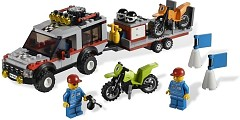 LEGO City 4433 Dirt Bike Transporter