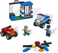 LEGO Bricks and More 4636 Police Building Set