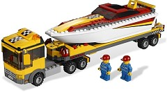 LEGO City 4643 Power Boat Transporter