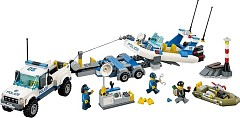 LEGO City 60045 Polizei-Boot-Transporter