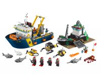 LEGO City 60095 Tiefsee-Expeditionsschiff
