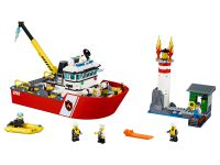 LEGO City 60109 Feuerwehrschiff - © 2016 LEGO Group