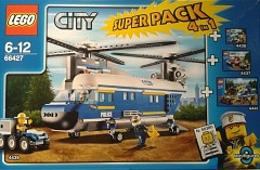 LEGO City 66427 City Police Super Pack 4-in-1
