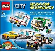 LEGO City 66451 City Traffic Super Pack 4-in-1