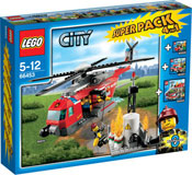 LEGO City 66453 Feuerwehr Super Pack 4 in 1