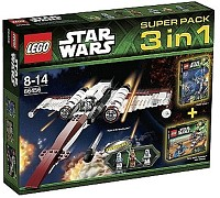 LEGO Star Wars 66456 Super Pack 3 in 1