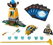 LEGO Legends Of Chima 70108 Königs-Crash