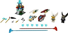 "LEGO Legends Of Chima 70114 Action-Set ""Himmelsduell"""
