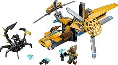 LEGO Legends Of Chima 70129 Lavertus Löwen-Jet