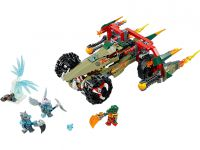 LEGO Legends Of Chima 70135 Craggers Feuer-Striker