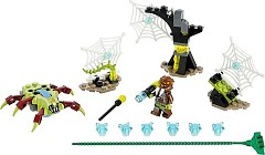 LEGO Legends Of Chima 70138 Spinnennetz