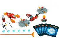 LEGO Legends Of Chima 70149 Feuer-Klingen