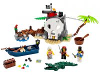 LEGO Pirates 70411 Piraten-Schatzinsel