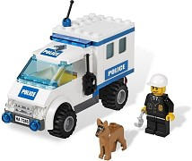 LEGO City 7285 Polizeihundeinsatz