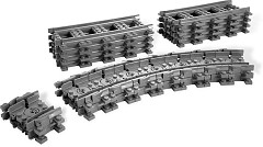 LEGO Bricks and More 7499 Flexible und gerade Schienen