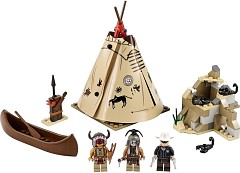LEGO Lone Ranger 79107 Lager der Comanchen - © 2013 LEGO Group