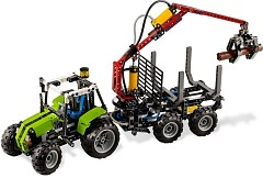LEGO Technic 8049 Tractor with Log Loader