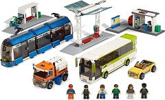 LEGO City 8404 City Bus und Tramstation