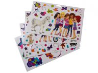 LEGO Friends 851417 Friends Wand-Sticker