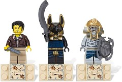 LEGO Gear 853168 Magnet Set: Amset-Ra, Jack Raines and Anubis Guard