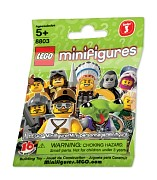 LEGO Collectable Minifigures 8803 Minifiguren Serie 3
