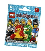 LEGO Collectable Minifigures 8805 Minifiguren Serie 5