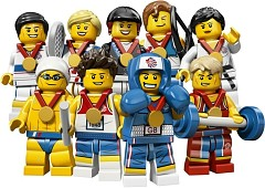 LEGO Collectable Minifigures 8909 Minifiguren Team GB
