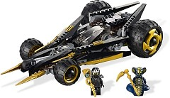 LEGO Ninjago 9444 Cole's Tread Assault