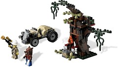 LEGO Monster Fighters 9463 Werwolfversteck