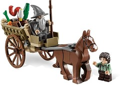 LEGO Lord of the Rings 9469 Die Ankunft von Gandalf
