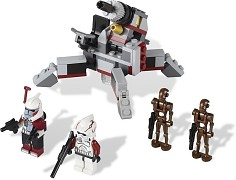 LEGO Star Wars 9488 Elite Clone Trooper & Commando Droid Battle Pack