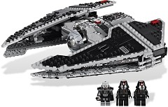 LEGO Star Wars 9500 Sith Fury - class Interceptor