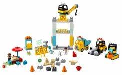 LEGO Duplo 10933 Große Baustelle mit Licht und Ton - © 2020 LEGO Group