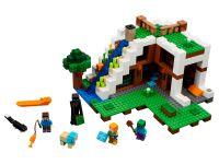 LEGO Minecraft 21134 Unterschlupf im Wasserfall - © 2017 LEGO Group