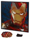 LEGO Art 31199 Marvel Studios Iron Man - Kunstbild - © 2020 LEGO Group