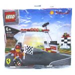 LEGO Promotional 40194 LEGO 40194 Shell V-Power Finish Line & Podium Polybag