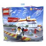 LEGO Promotional 40195 LEGO 40195 Shell V-Power Shell Station Polybag
