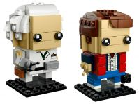 LEGO BrickHeadz 41611 Marty McFly und Doc Brown