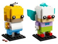 LEGO BrickHeadz 41632 Homer Simpson und Krusty der Clown