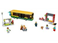 LEGO City 60154 Busbahnhof - © 2017 LEGO Group