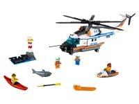 LEGO City 60166 Seenot-Rettungshubschrauber - © 2017 LEGO Group
