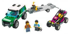 LEGO City 60288 Rennbuggy-Transporter