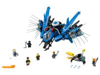LEGO The LEGO Ninjago Movie 70614 Jay's Jet-Blitz - © 2017 LEGO Group