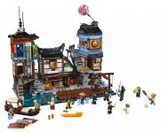 LEGO The LEGO Ninjago Movie 70657 Ninjago City Hafen