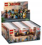 LEGO Collectable Minifigures 71019 LEGO® Ninjago Movie Minifiguren Serie 60er Box